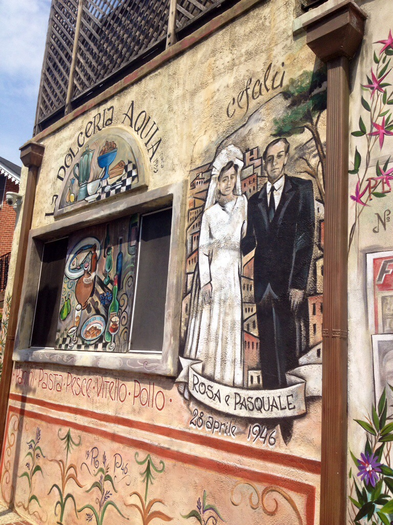 Murales a Little Italy