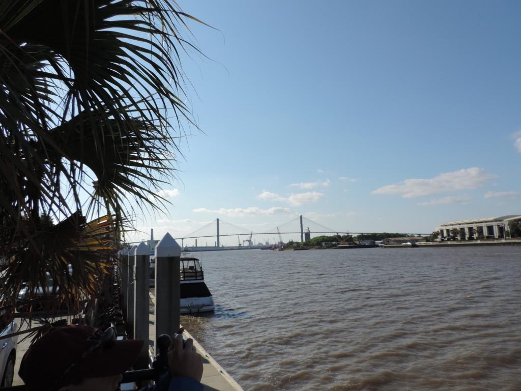 Il molo sul Savannah River