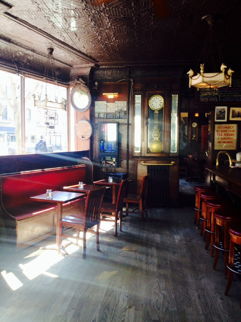 Inside the White Horse Tavern