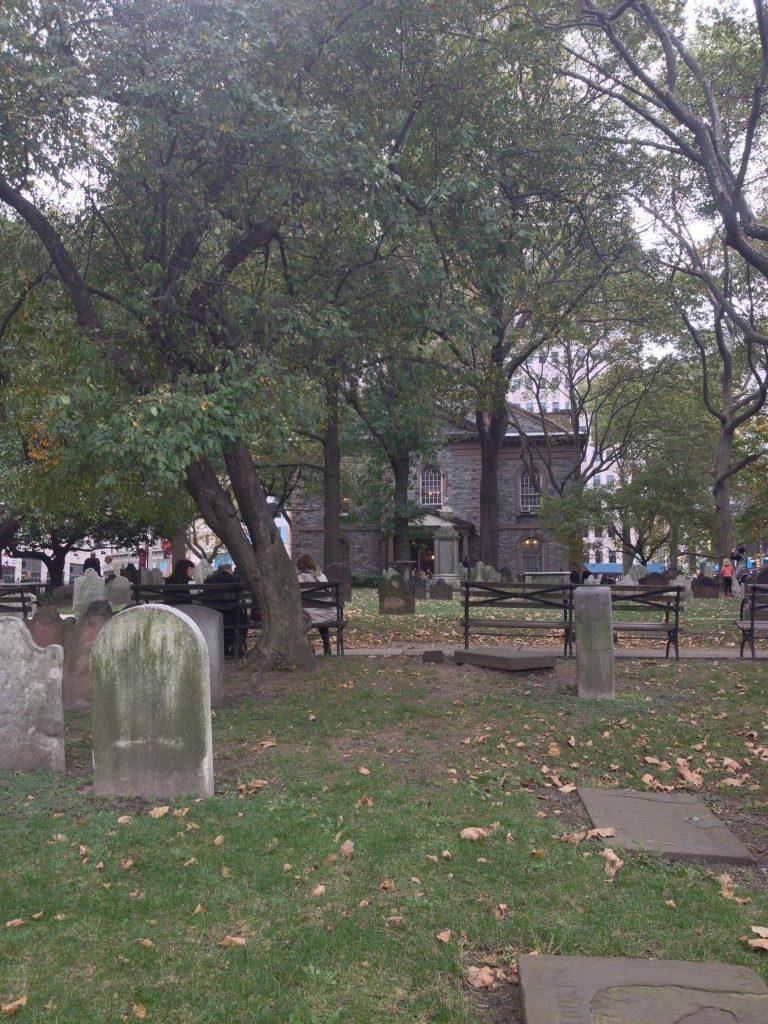 St. Paul Chapel Burial Ground