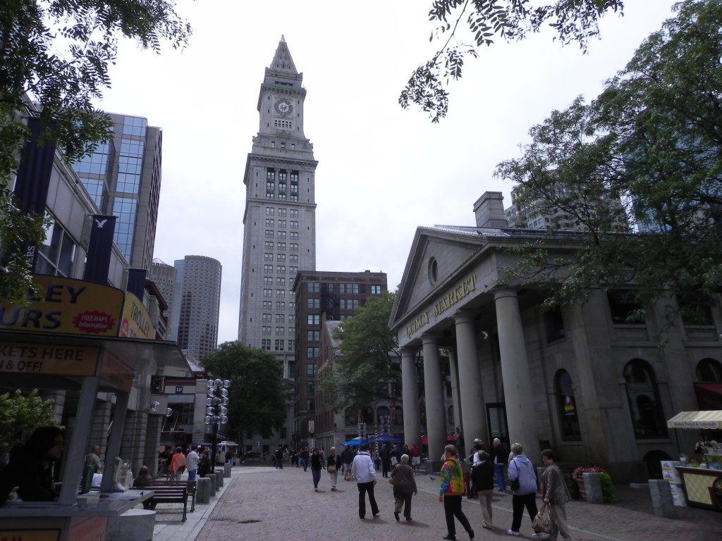 Fanueill Hall and Quincy Market