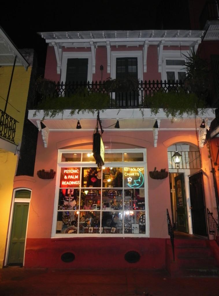 Bourbon street voodoo shops