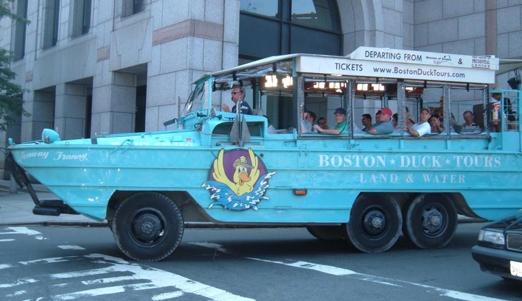 Duck Tour Boston