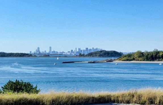 Harbor Islands, vista su Boston