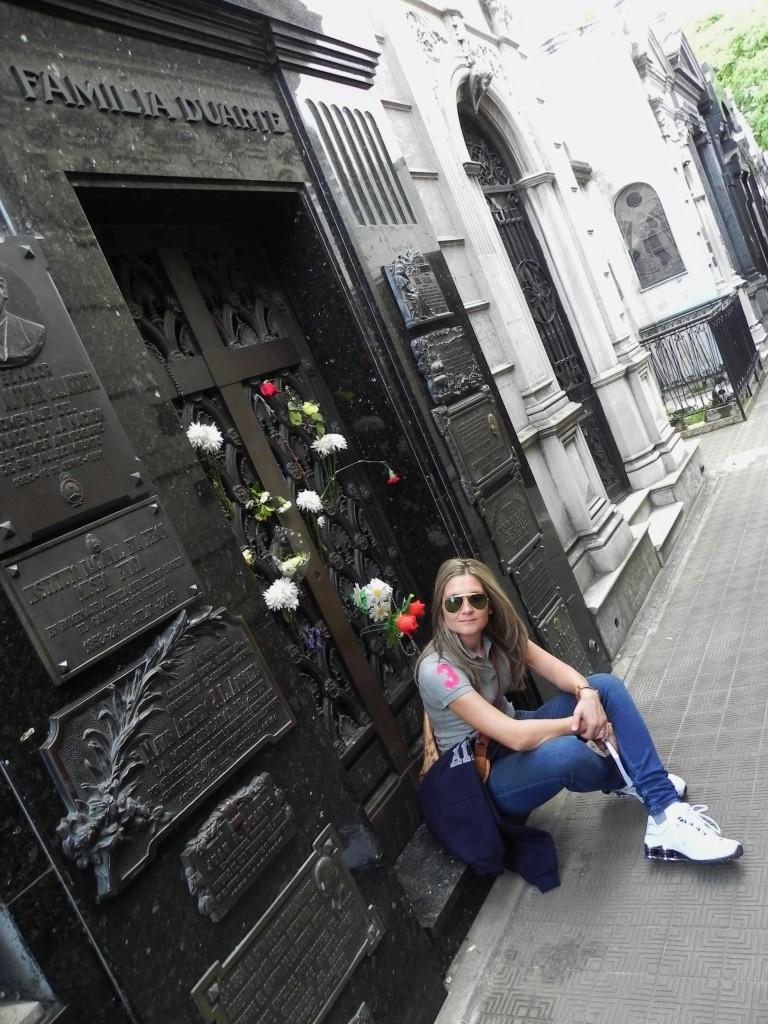 La tomba di Evita Peron nel Cimitero de la Recoleta