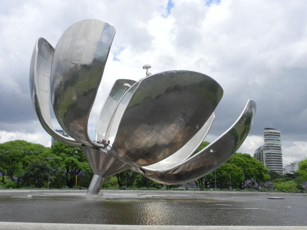 Buenos Aires, la Floralis Genèrica