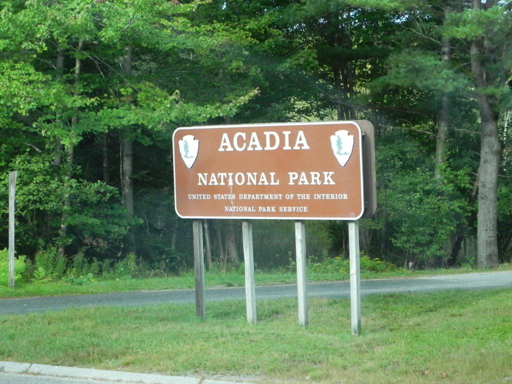 Benvenuti all'Acadia National Park