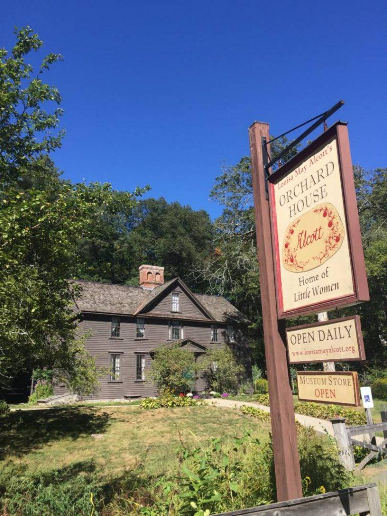 """La """"casa"""" di Piccole Donne, Concord, Massachusetts"""