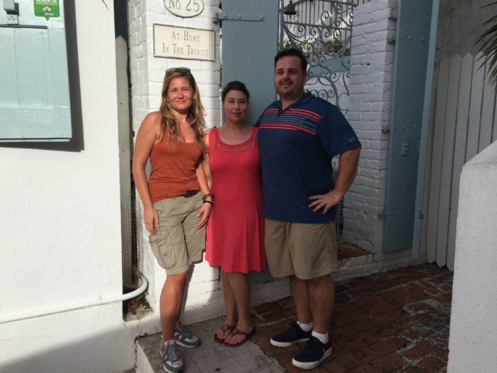 At Home in The Tropics Inn, i miei perfetti owners Jessica e Mark