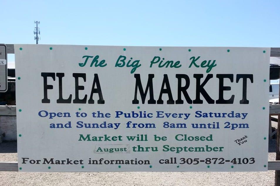 Scoprire le Florida Keys: Big Pine Flea Market