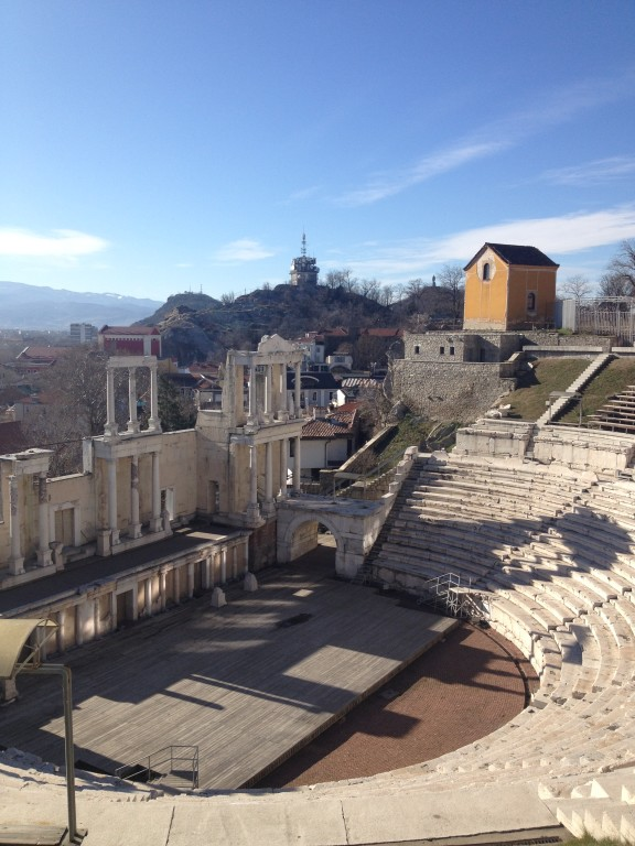 Plovdiv, the old Roman Theatre