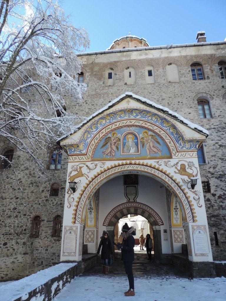 Il secondo accesso al monastero di Rila