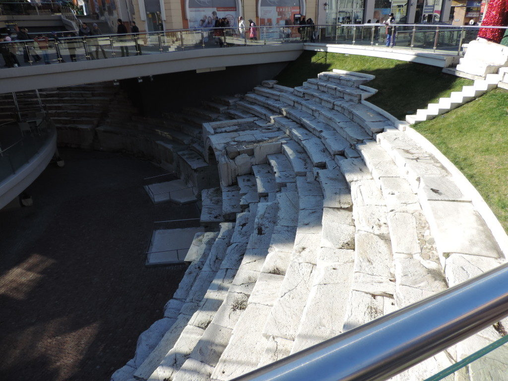 Plovdiv, lo Stadio Romano