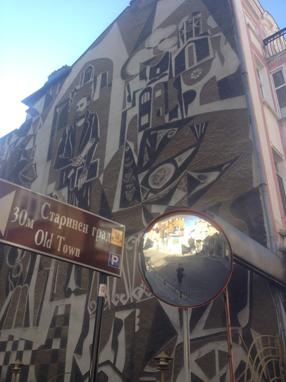 Plovdiv, un inusuale esempio di street art