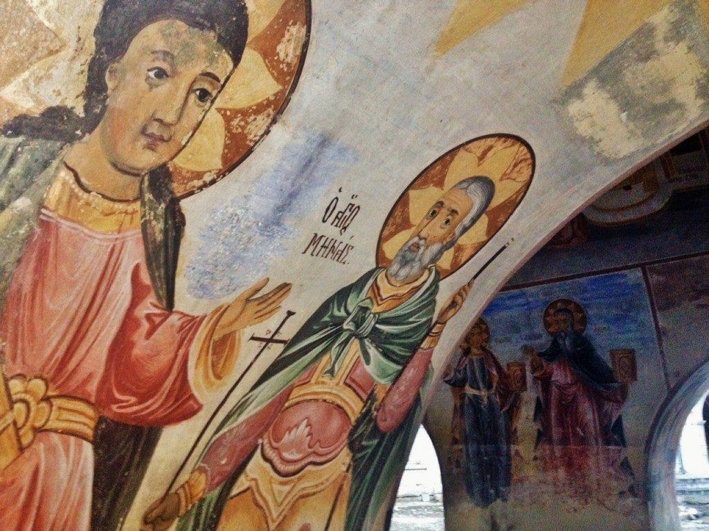 Monastero di Bachkovo, affreschi