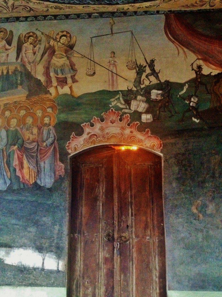 Il Giudizio Universale, Chiesa di Sveta Nikolai