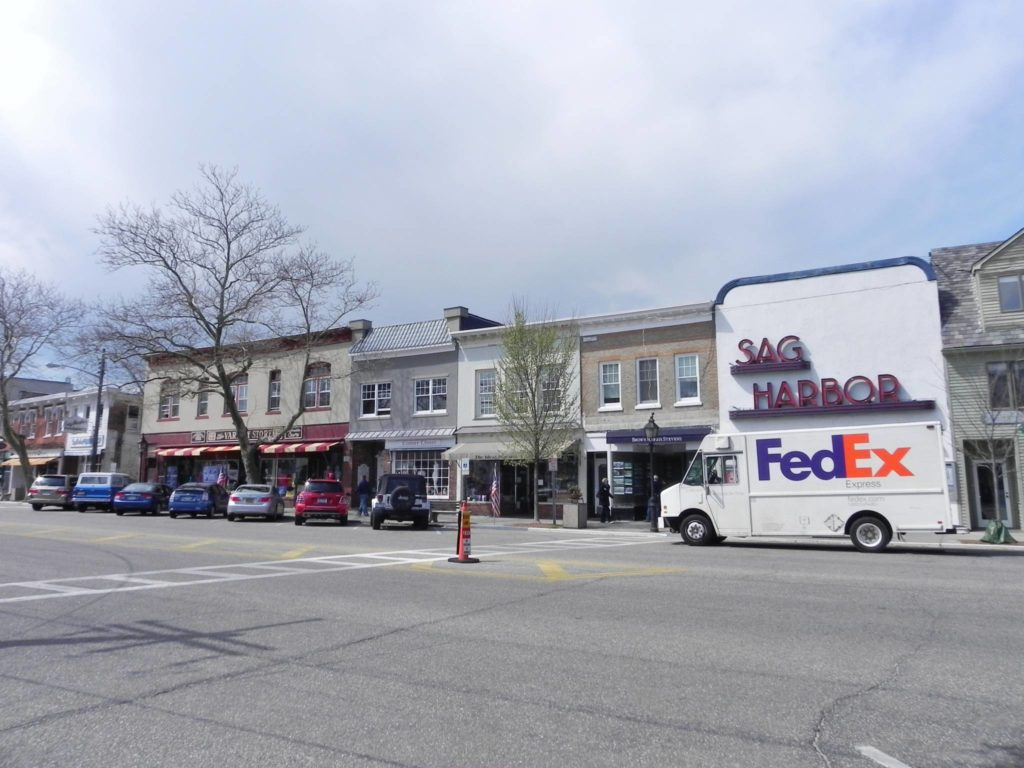 Excursions outside New York: Sag Harbor, Main Street