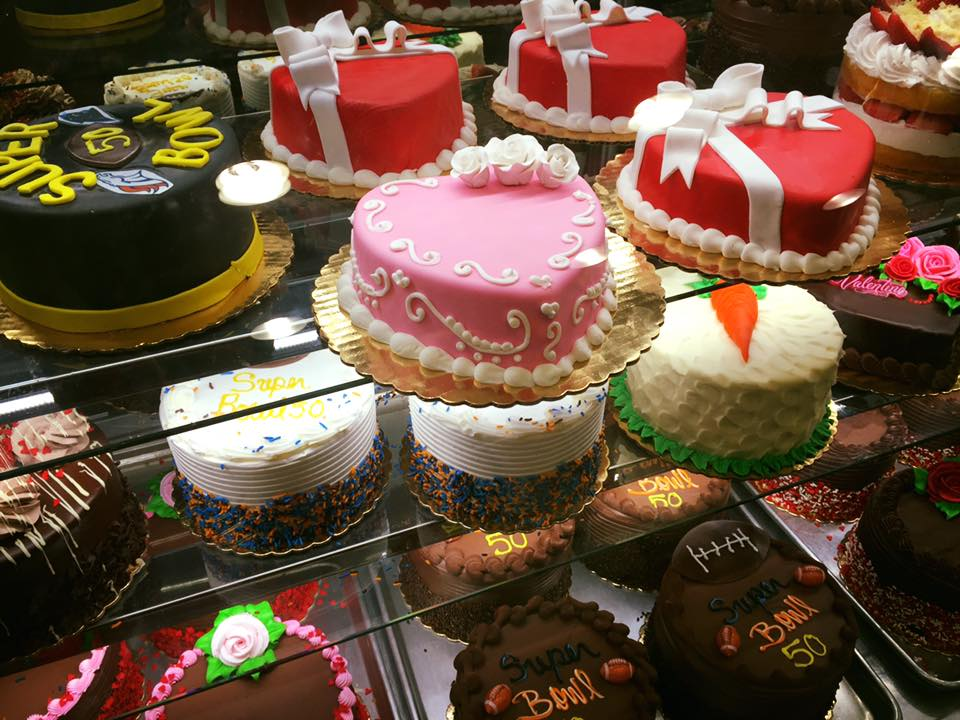 Carlo's Bakery, the inside of the bakery