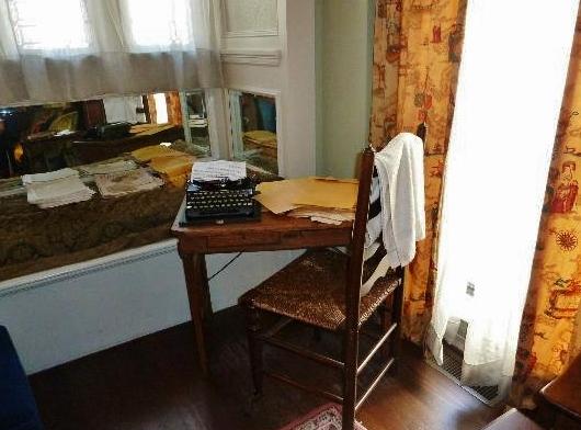 Lo scrittoio e la macchina da scrivere di Margaret Mitchel nella sua casa di Atlanta