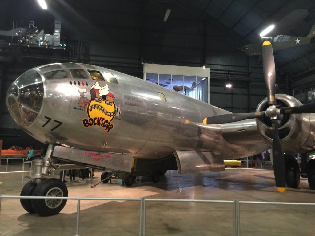Il B-29 che sganciò la bomba su Nagasaki