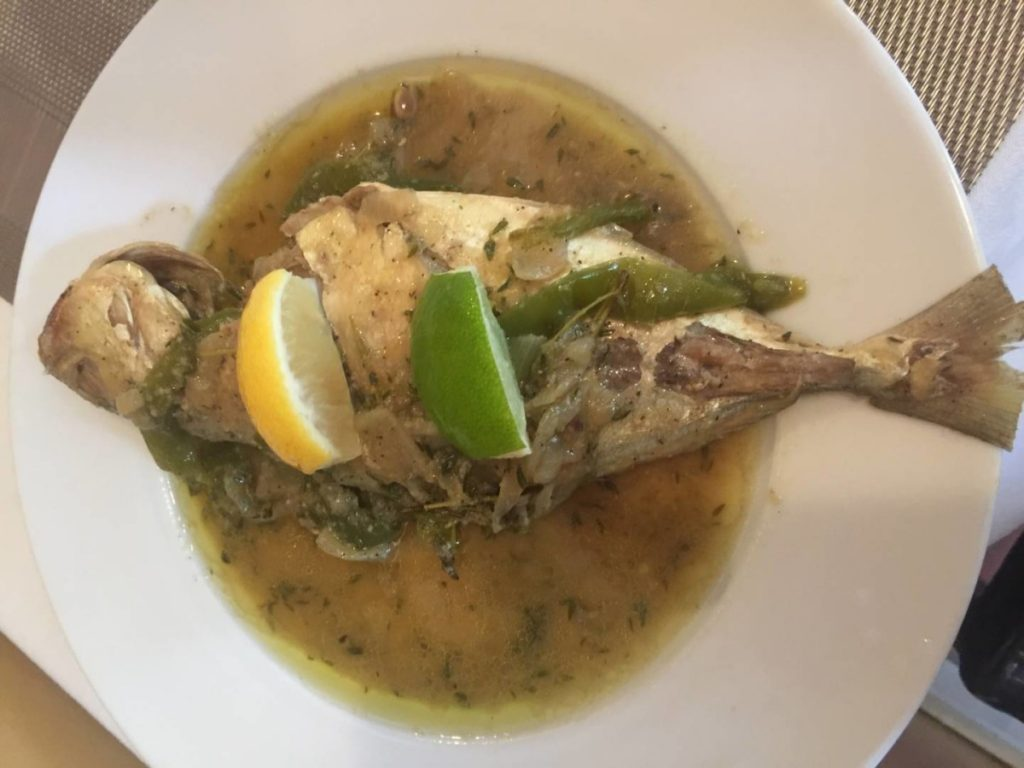 What to see in St. John: lunch at De' Coal Pot's