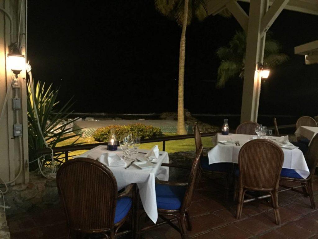 Cosa vedere a St. Thomas: cena speciale da Oceana Restaurant