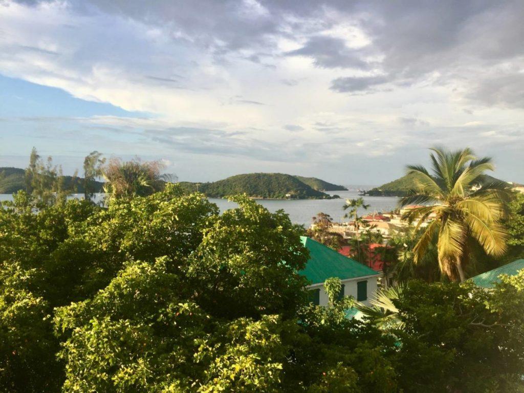 Cosa vedere a St. Thomas: vista su Charlotte Amalie