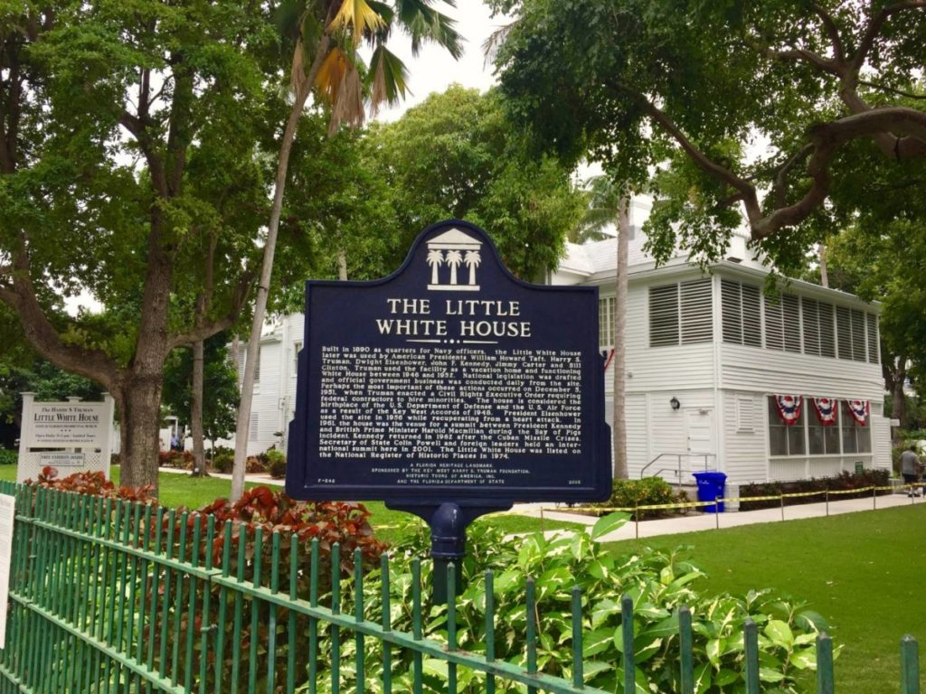Things to do in Key West: visit the Little White House