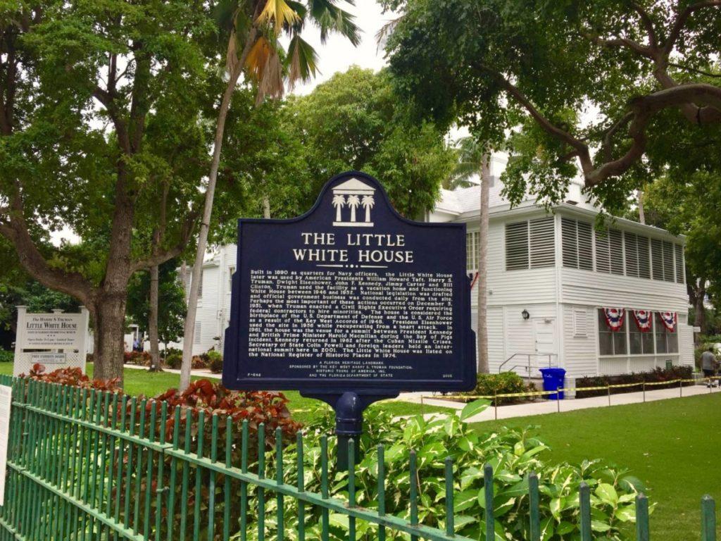 Cose da fare a Key West: visitare the Little White House