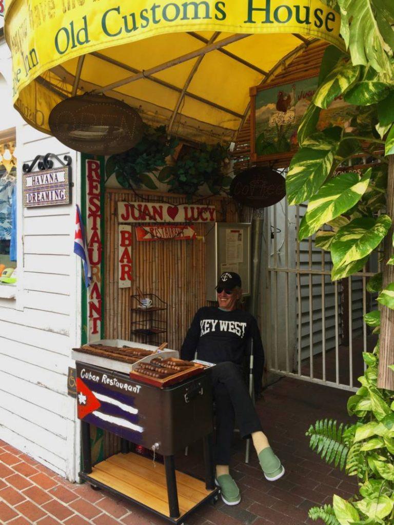 Cigars sellers in Duval Street