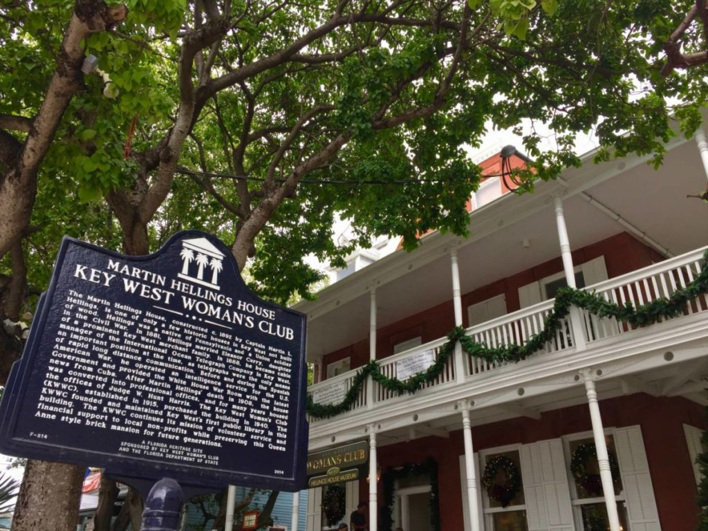 Things to do in Key West: visit the Key West Woman's Club