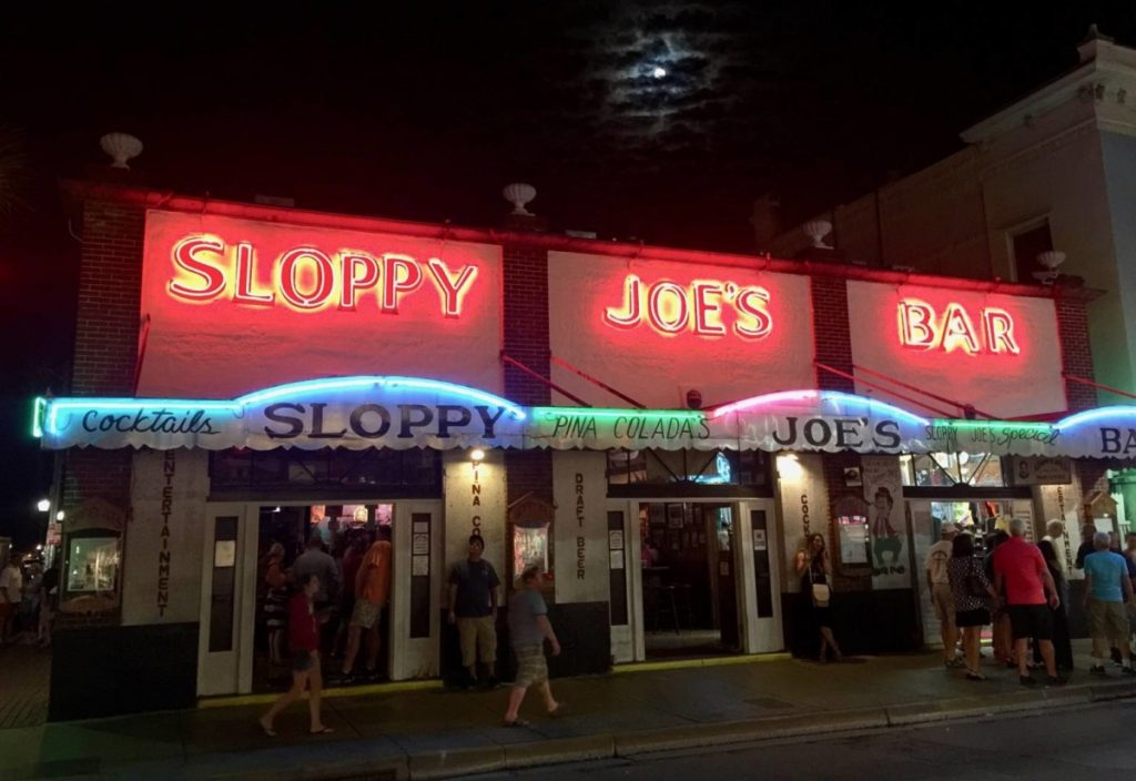 Things to do in Key West: an evening at the Soppy Joe's Bar's