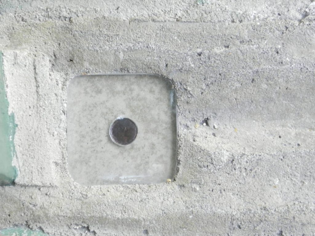 Ernest Hemingway House, the last penny fixed in the cement by Hemingway on the bottom of the swimming pool