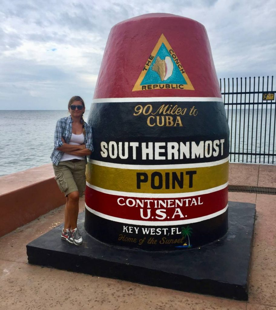 Things to do in Key West: a photo at the Southernmost Point