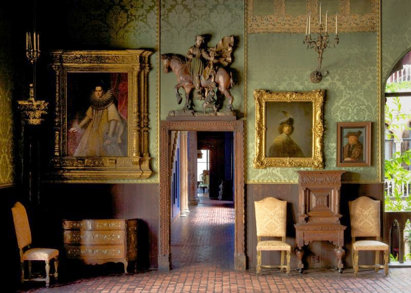 Isabella Stewart Gardner Museum, rooms and works of art