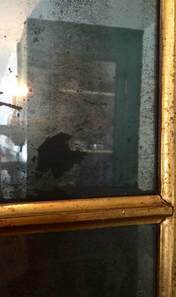 The mirror, detail