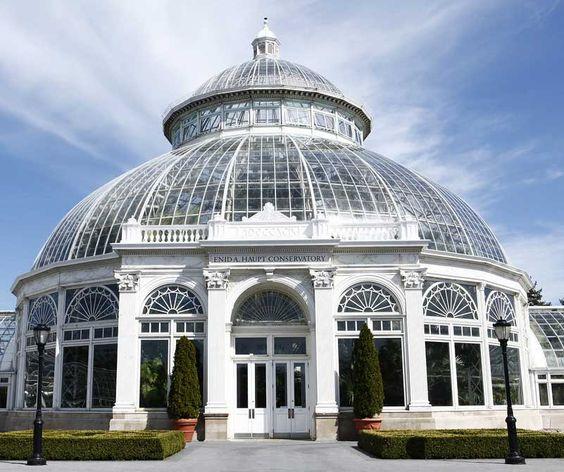 Cosa visitare a New York: New York Botanical Garden, Edin Haupt Conservatory