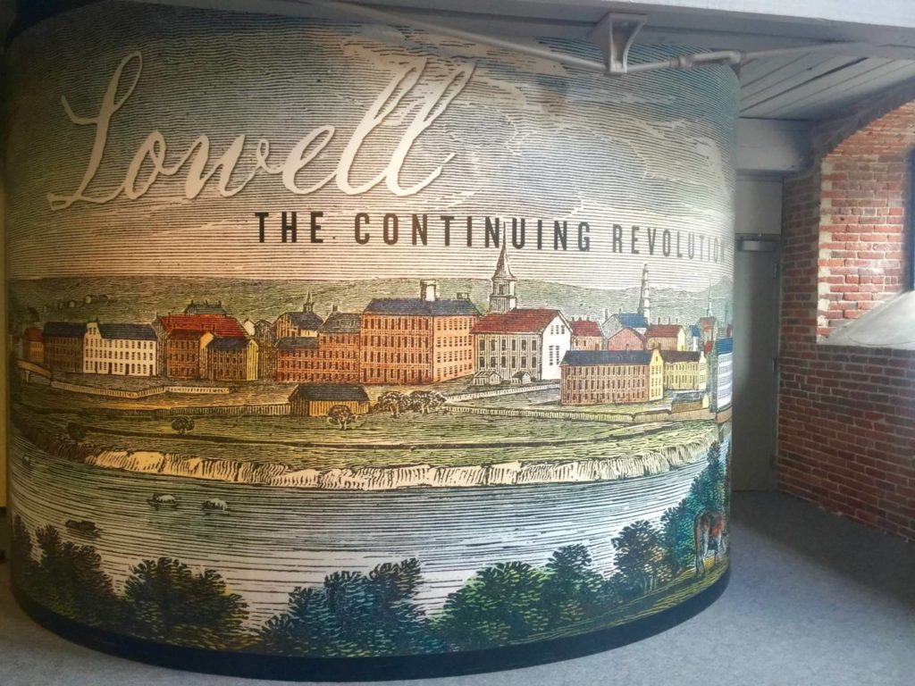 Welcome to Lowell, homeland of the American Industrial Revolution