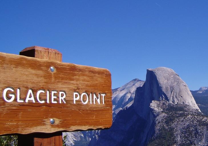 Half Dome visto da Glacier Point