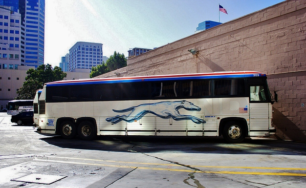 Greyhound bus, il mito