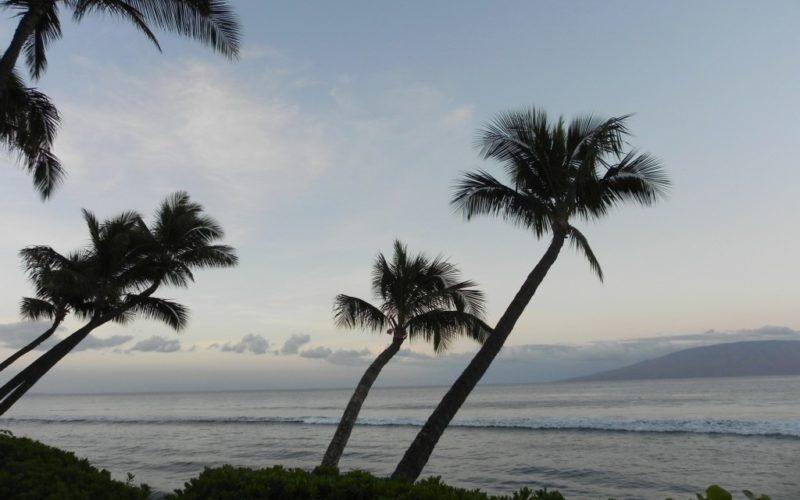Tramonto a Maui