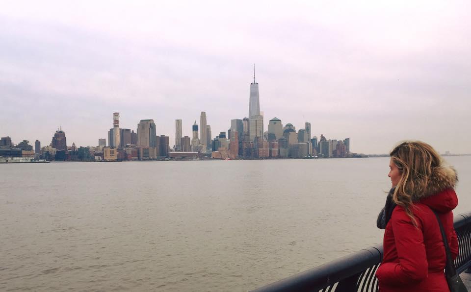 Unusual New York: Lower Manhattan seen from the Pier 6 in Hoboken