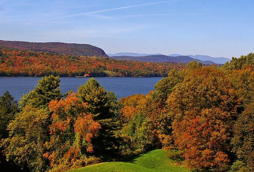 Excursion outside New York: Hudson Valley, Fall views