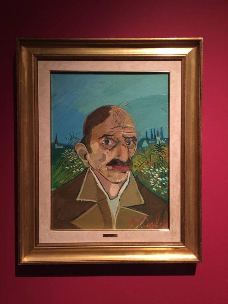 The hidden treasures: Ligabue, self-portrait