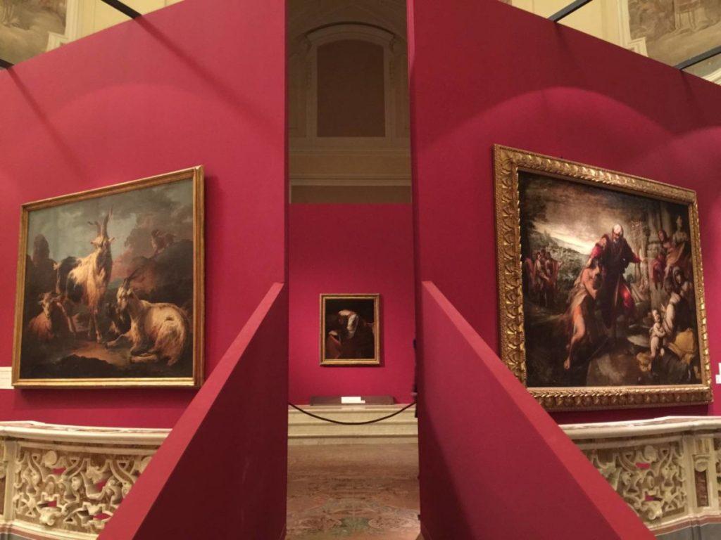 The Hidden Treasures, geometries for Caravaggio