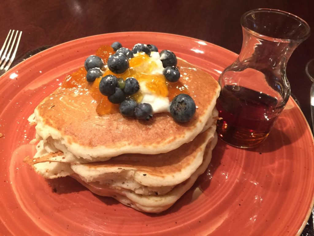 Discover Denver: the fabulous The Edge Lemmon Ricotta Pancakes