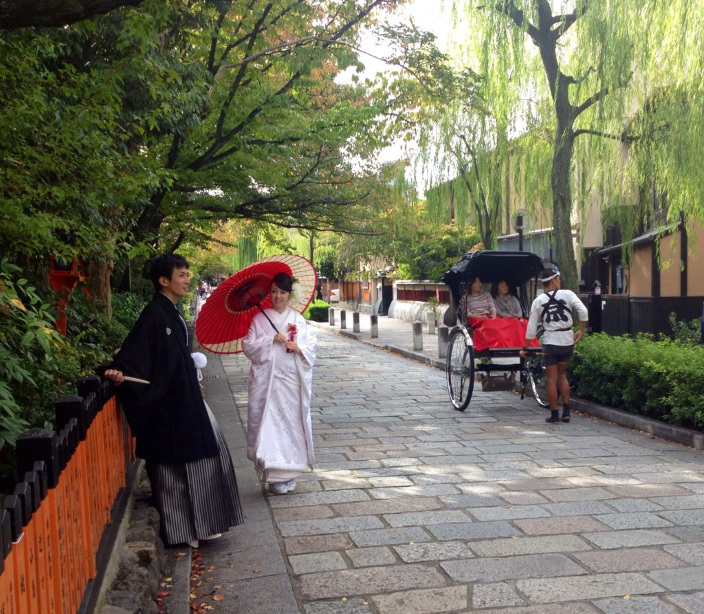 Kyoto, scene da un matrimonio