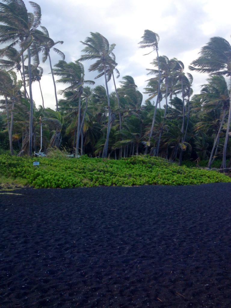Black Sand Beach, Big Island