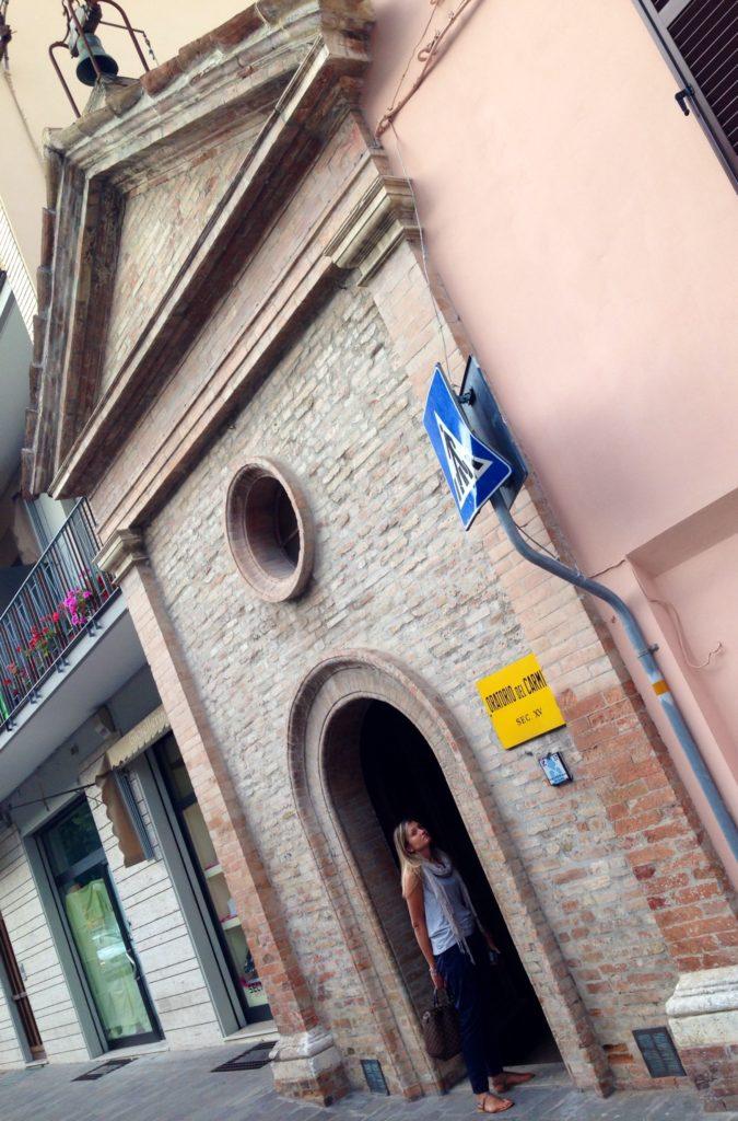 Urbania, l'Oratorio del Carmine