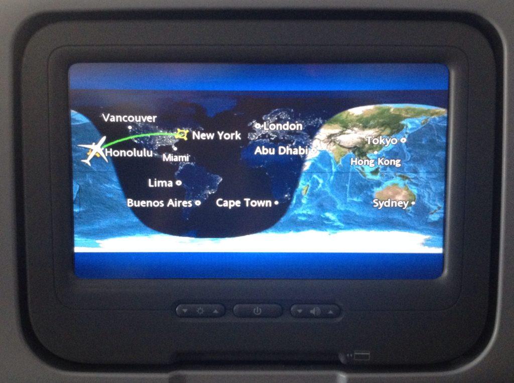 Il sesto volo del mio Giro del Mondo, dalle Hawaii a New York